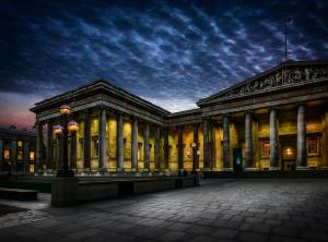 British Museum at night